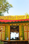 Tropical Cocktail Bar — Stock Photo