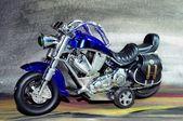 Motor bike — Stock Photo