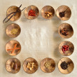 Spices frame — Stock Photo #10184149