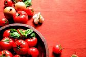 Tomato,vegetable and herb — Stock Photo