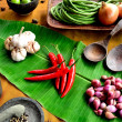 Royalty-Free Stock Photo: Indonesian vegetable and spice