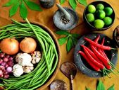 Vegetable of Indonesian food — Stock Photo