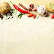 Vegetable and spice — Foto Stock
