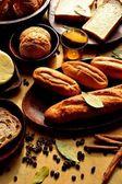Panes con especias — Foto de Stock