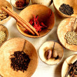 Stock Photo: Various types of spice