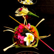 Balinese Hindu offerings - Stock Photo