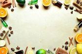 Citrus fruit,spice and aromatherapy — Stock Photo
