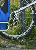 Bicycle wheel — Stock fotografie
