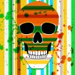 Stock Photo: Bright scull