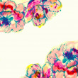 Stock Photo: Watercolor background