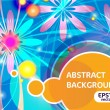Abstract bright background — Image vectorielle