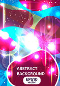 Abstrato brilhante — Vetorial Stock