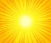Sun beams — Stock Vector