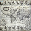 Royalty-Free Stock Photo: Vintage map of the world