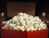 Box of popcorn — Stock Photo