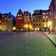Stortorget at night — Stock Photo