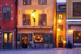Stortorget in Gamla stan, Stockholm — Stock Photo