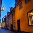 The Old town, Stockholm, Sweden - Stock Photo