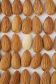 On naked almond — Stock Photo