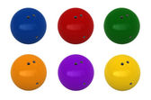 шары для боулинга — Стоковое фото