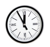 Round wall clock — Stock Photo