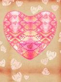 St. Valentine`s day postal — Zdjęcie stockowe