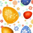 Easter-eggs background — Stock Photo