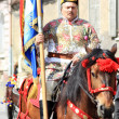 First Sunday after Easter at Junes Parade in Brasov city - Stock Photo