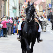 Stock Photo: Brasov Junes Parade, april 2012