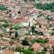 View over Scheii Brasovului, from Brasov — Stock Photo