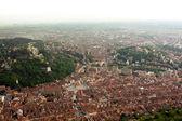 Panorama over Brasov city — Stock Photo