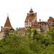Stock Photo: Medieval castle, known as Dracula's castle from Bran, Romania