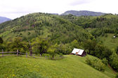 House on the top of the hill, Pestera village from Romania — ストック写真