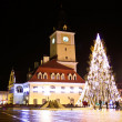 Brasov city story, prepared for the celebration - Zdjęcie stockowe