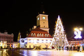 Brasov city story, prepared for the celebration — Stock Photo