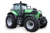 Traktor isolerad på vit bakgrund — Stockfoto