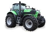Traktor isoliert auf weißem hintergrund — Stockfoto