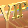 Stock Photo: VIP or Very Important Person letter illustration over spectral background