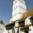 Fortified church from Harman village, near Brasov city. — Stock Photo