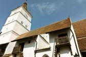 Ufortyfikowany kościół z miejscowości harman, gdzieś w Transylwanii — Zdjęcie stockowe