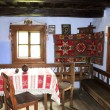 Interior of typical house from Transylvania, Romania — Stok fotoğraf