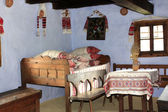 Decorated house from Transylvanian museum — Photo