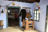 Interior of typical house from Transylvania — Stock Photo