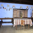 Interior of preserved house from Transylvania — ストック写真