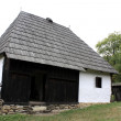 Secular preserved house from Transylvania — Stock Photo