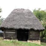 Secular storehouse from Transylvania, Romania — Stock Photo