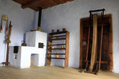 Furnace room of secular house — Stock Photo