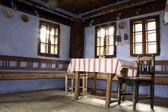 装饰的内部的世俗的房子 — 图库照片