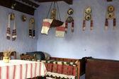 Interior of rural house from Transylvania — Stock Photo