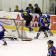 Stock Photo: Brasov hockey team in attack
